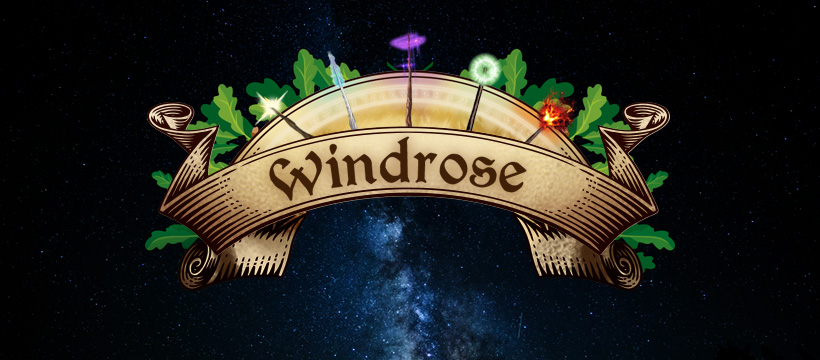 Windrose LARP Website & Art