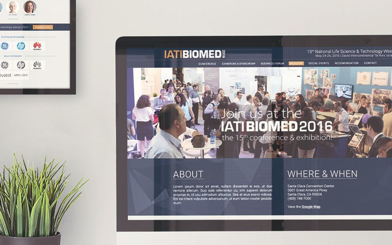 IATI Biomed 2016 – By Kenes Exhibitions