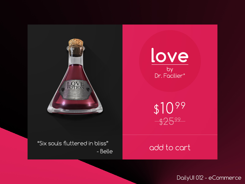 Love – By Dr. Facilier